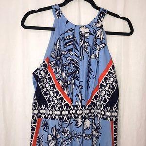 INC Halter Maxi Dress